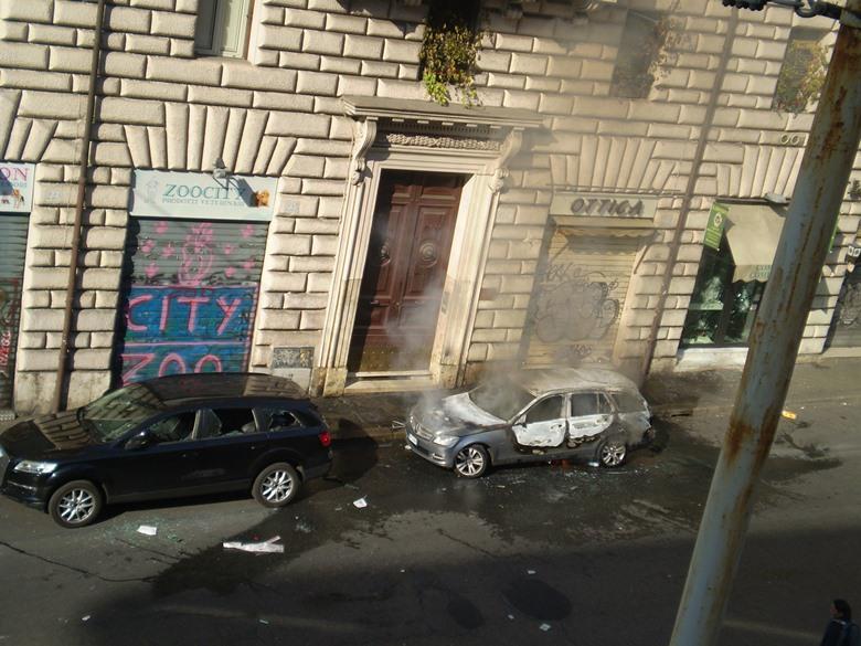 guerriglia urbana roma