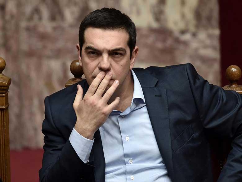 Alexis Tsipras presidente di sinistra Grecia