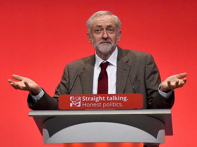 Jeremy Corbyn capo labour Inghilterra