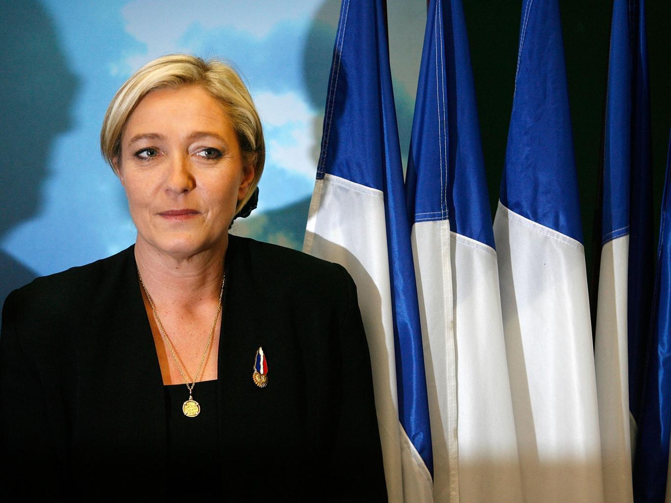 Marine Le Pen, leader Fronte Nazionale francese