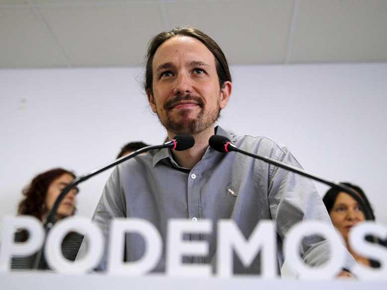 Pablo Iglesias, rappresentante di Podemos