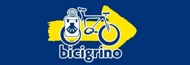 Cammino di Santiago in bicicletta segnale bicigrino