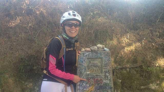Cammino di Santiago in bicicletta a 100 km dalla meta