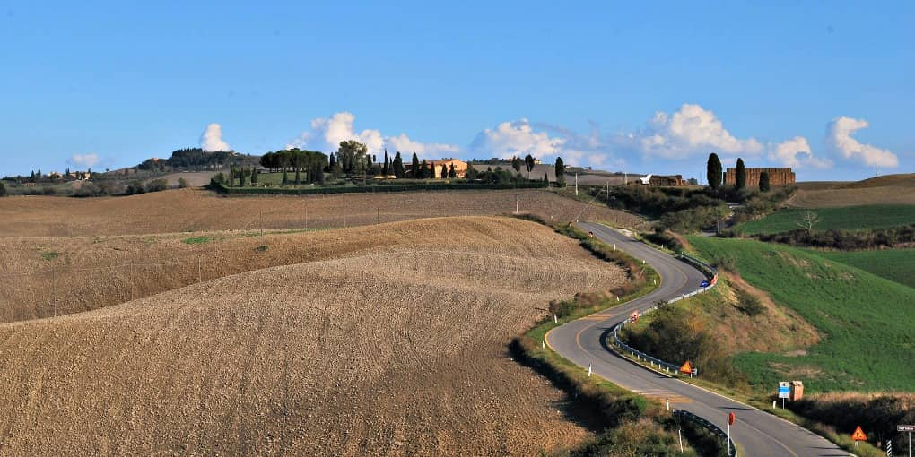 itinerari Toscana Val d'Arbia