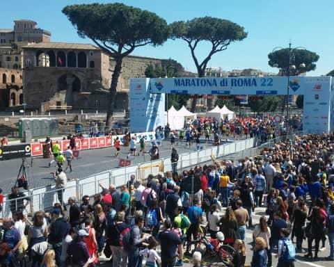 cronaca maratona di roma
