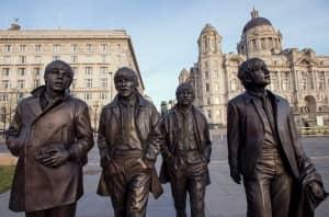 Luoghi Beatles Liverpool Monumento