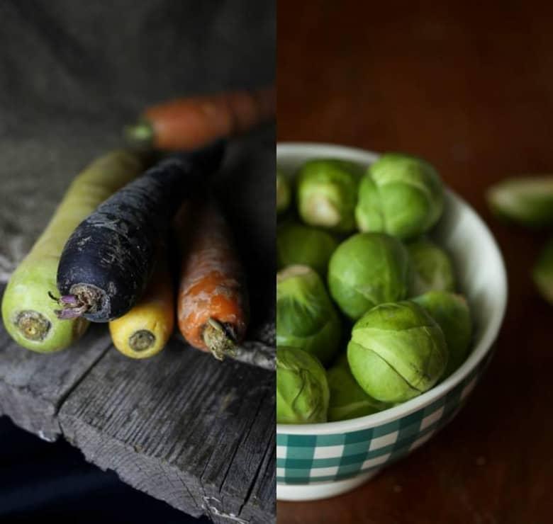 caponata di verdure miste invernali