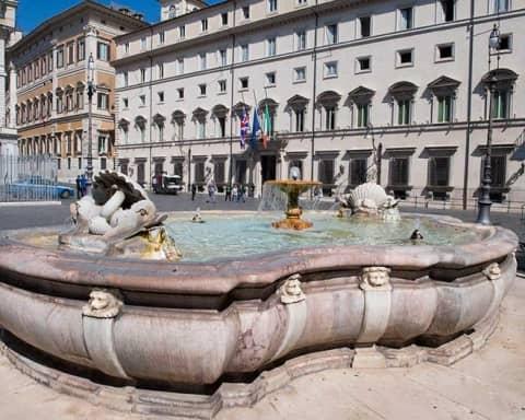 immagine di Palazzo Chigi, sede del governo italiano