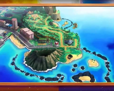 pokemon sole luna trailer