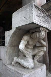 Venezia misteriosa colonna del gobbo