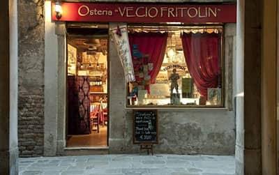 Venezia misteriosa Osteria Vecio Fritolin