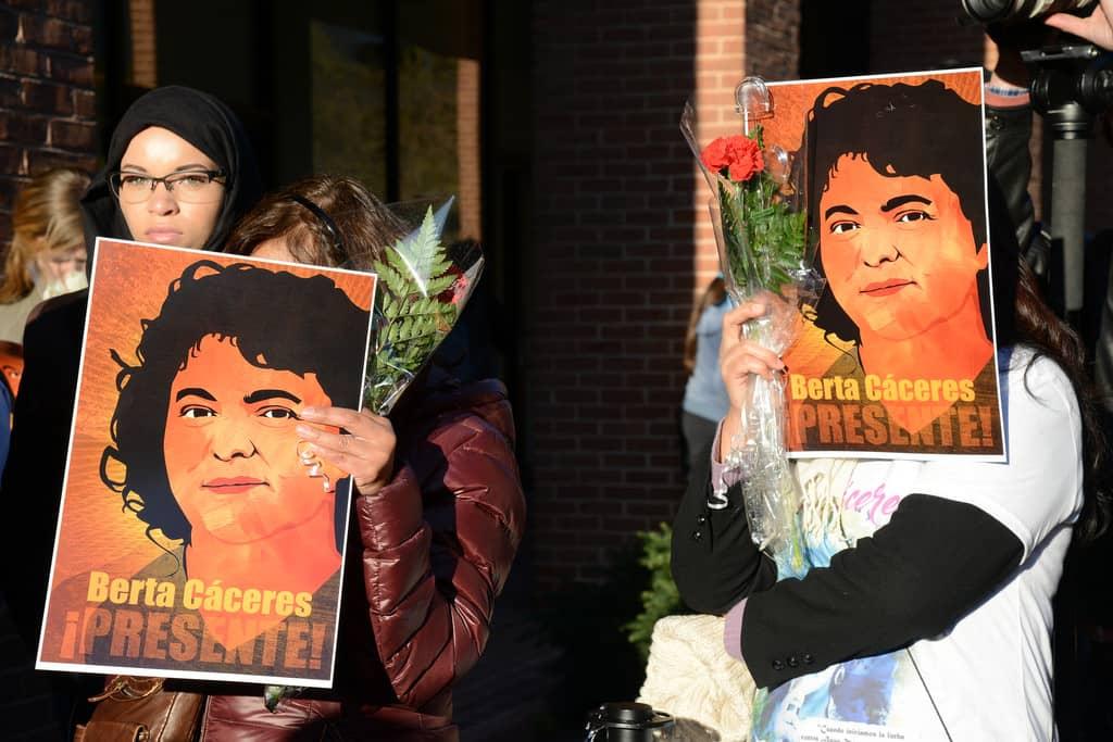 Berta Cáceres, uccisa in Honduras per aver difeso ambiente e diritti umani