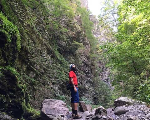Orrido di Botri trekking in Toscana