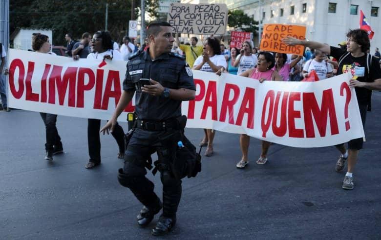 rio 2016 protest