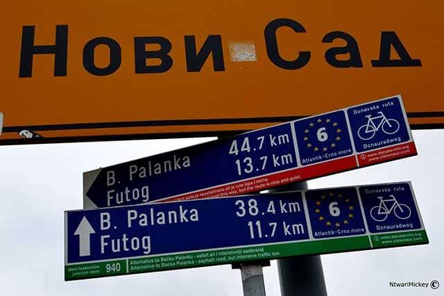 Novi Sad Balcani Serbia