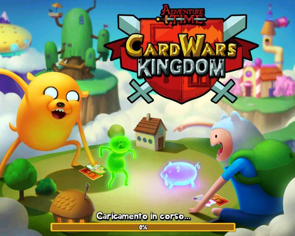 card wars kingdom adventure time