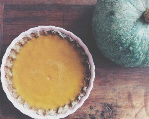 pumpkin pie con grano saraceno