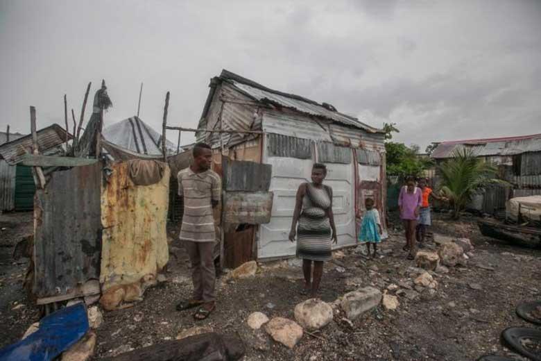 Le conseguenze devastanti del ciclone che ha colpito Haiti