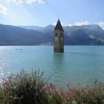 Lago di Resia campanile