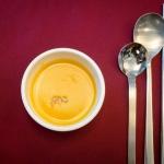 minestra di zucca e curry