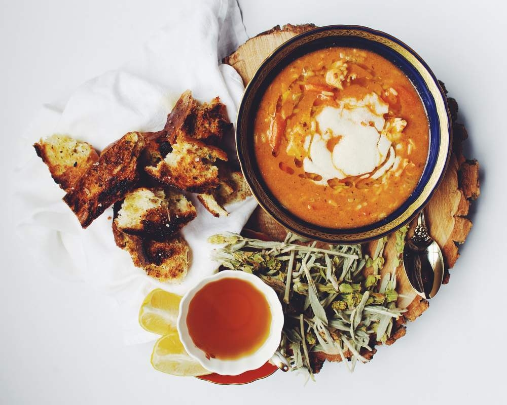 zuppa di amaranto