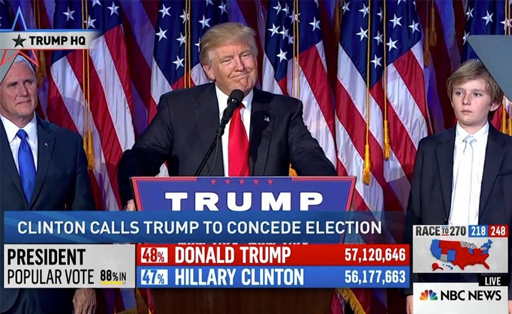 vittoria di trump
