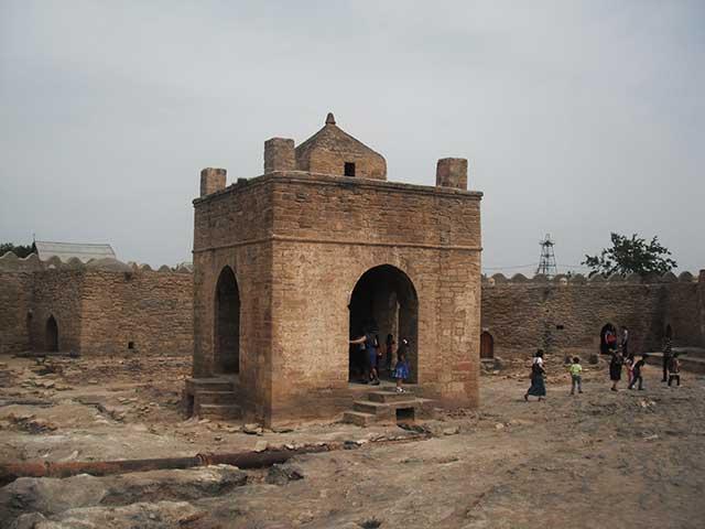 Baku Tempio del Fuoco Ateshgah