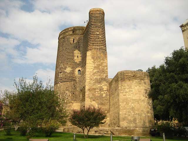 Baku Maiden Tower Torre della Vergine