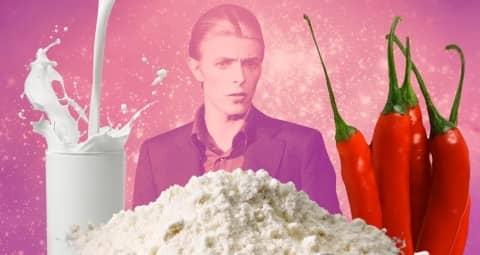 dieta di David Bowie