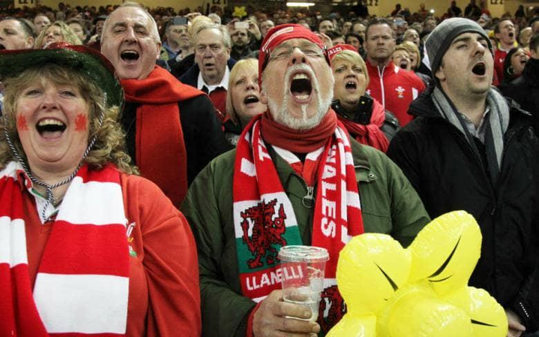 sei nazioni 2017 galles fans