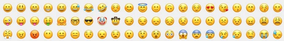 emoji di whatsapp