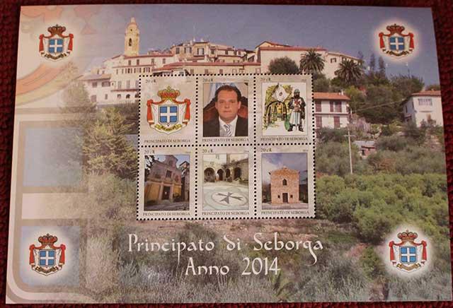 Seborga francobolli