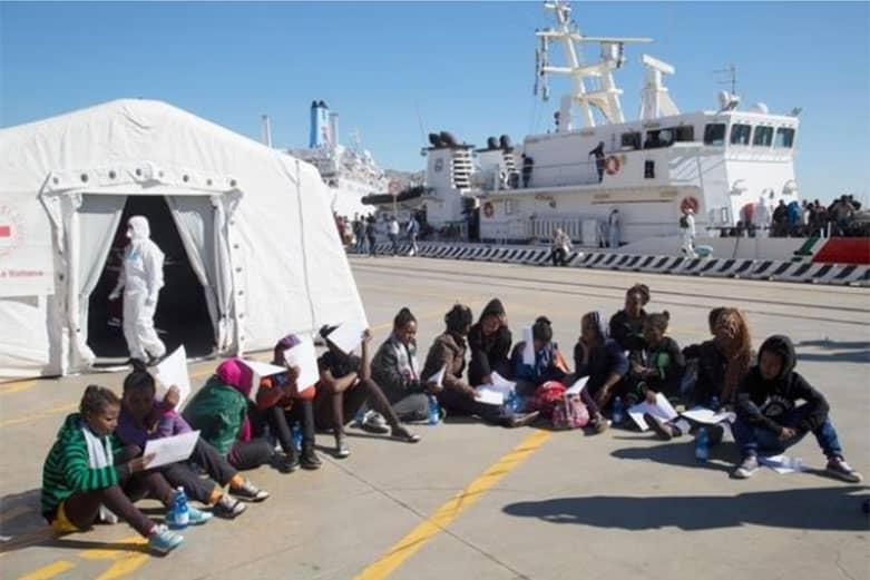 Rotta migratoria del Mediterraneo centrale: un viaggio fatale per i bambini