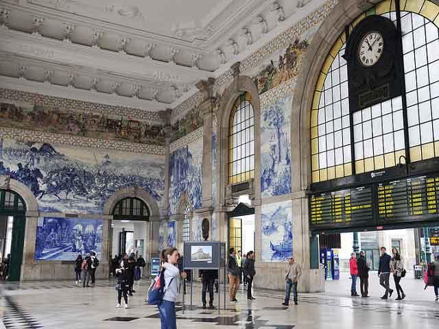 visitare Porto Stazione Sao Bento