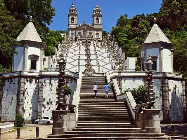 visitare Porto Sanctuário de Bom Jesus do Monte a Braga