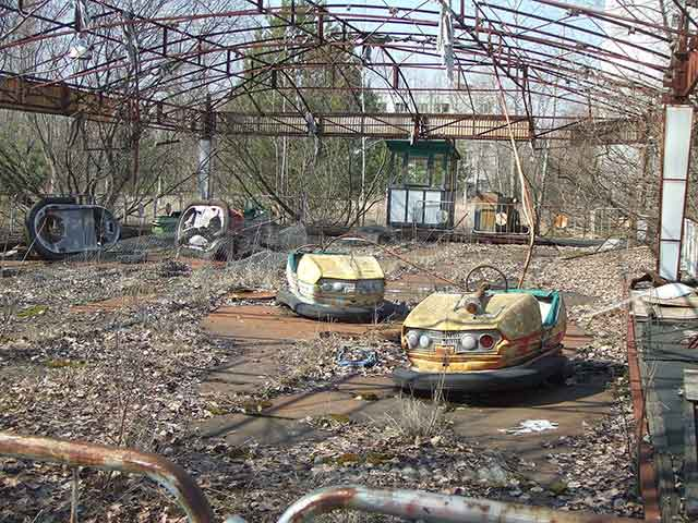 posti più inaccessibili Pripyat Ucraina