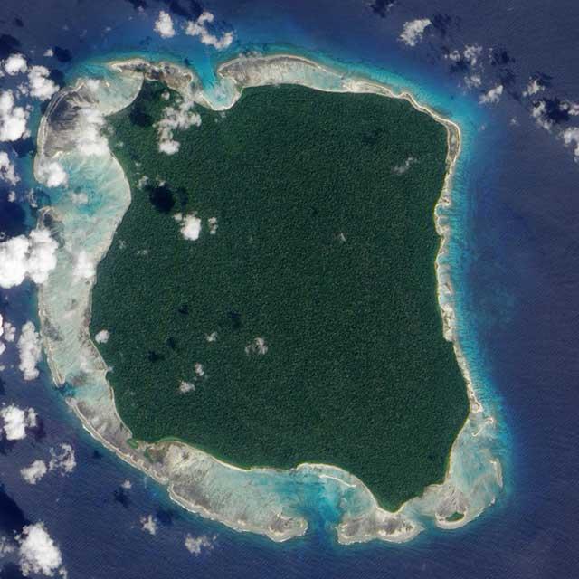 posti più inaccessibili North Sentinel Island
