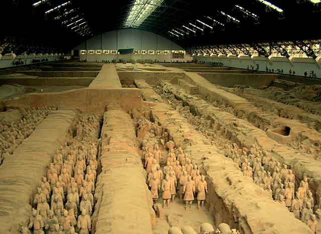 posti più inaccessibili Qin Shi Huang Cina
