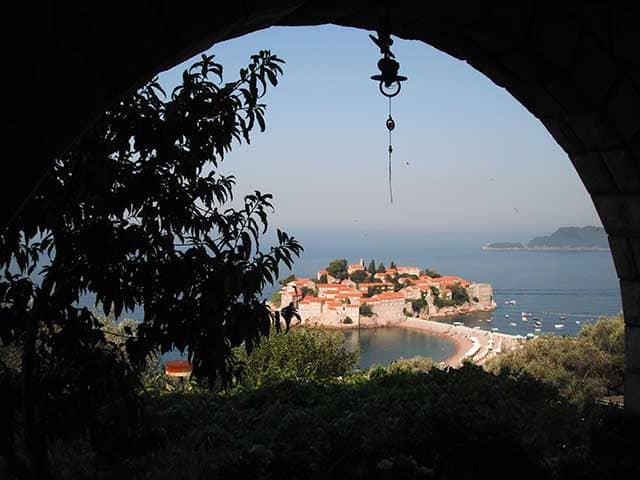 Viaggio in Montenegro Sveti Stefan