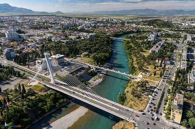 viaggio in Montenegro Podgorica
