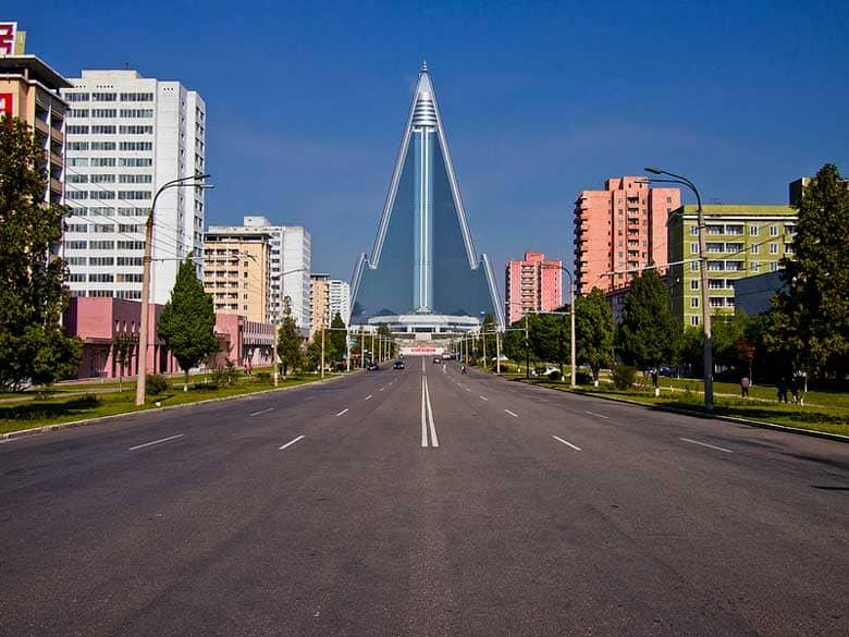 La Corea del Nord vista oggi: Pyongyang