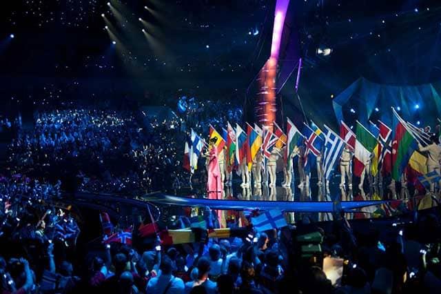 Eurovision tutte le nazioni