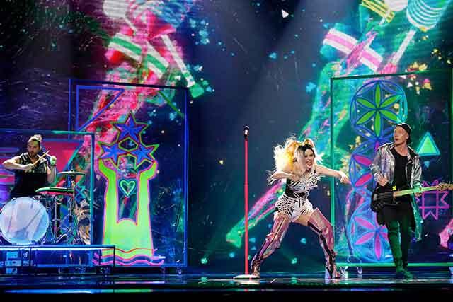 Eurovision 2017 performance Lettonia