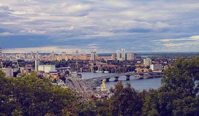 Viaggio a Kiev panorama