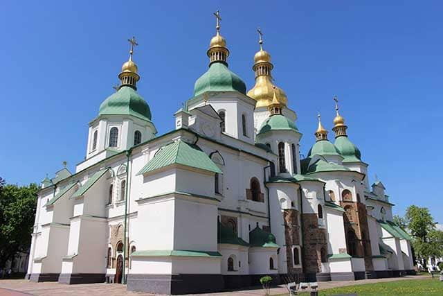 Viaggio a Kiev chiesa Santa Sofia