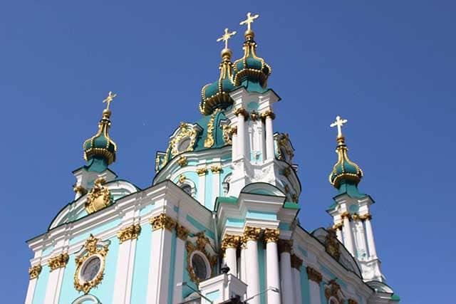 Viaggio a Kiev chiesa di Sant'Andrea