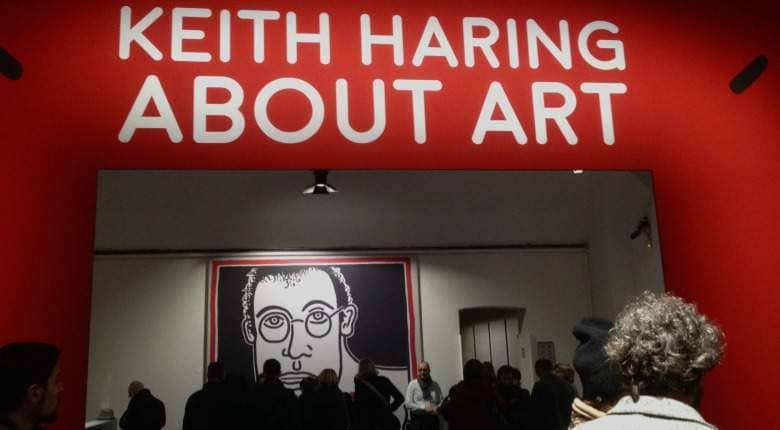 copertina mostra Haring