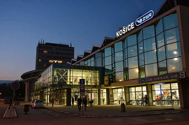Košice stazione