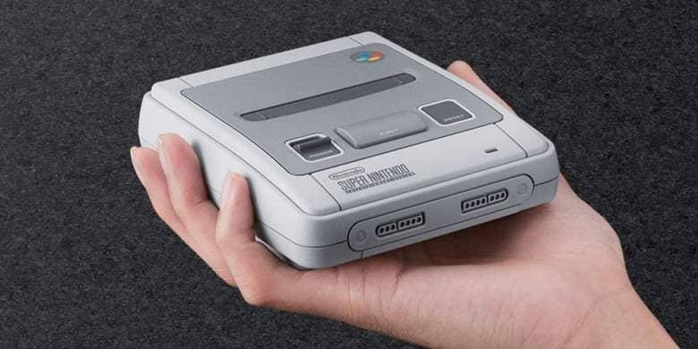 Il Mini SNES versione europea