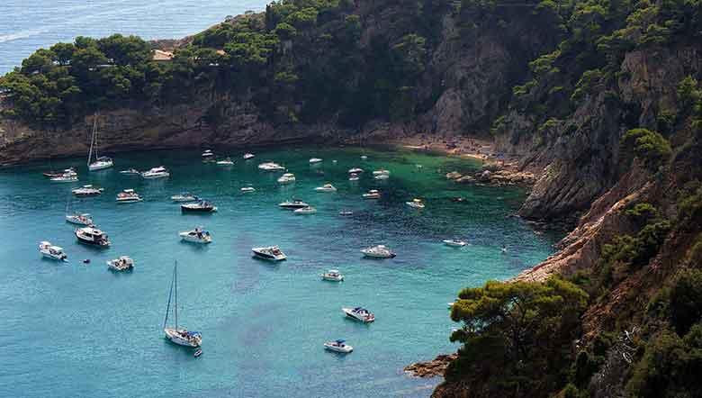 Spiagge della Catalgona